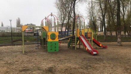 В Воронежской области подрядчика заподозрили в махинациях с детской площадкой на 600 тысяч