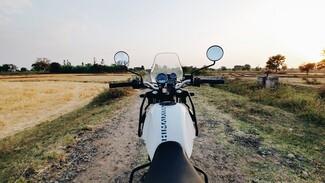 Уехавший из дома на скутере во время самоизоляции воронежец заплатит 7,5 тыс. рублей