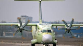 В Воронеже взлетел новейший военный транспортник Ил-112В