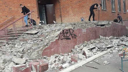 «Обрушение» лестницы в корпусе Воронежского госуниверситета оказалось запланированным