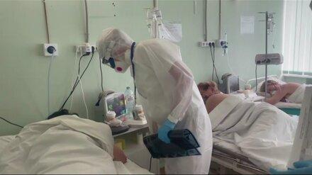 Число «тяжёлых» пациентов с ковидом выросло в Воронежской области за сентябрь на 39%