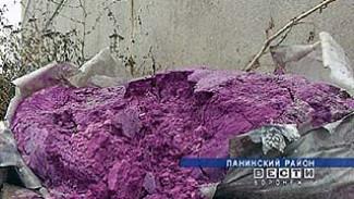 Воронежская область начнёт избавляться от пестицидов