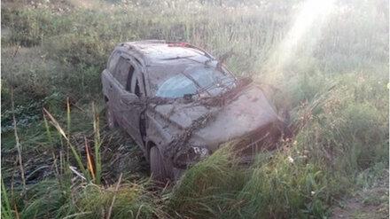 В Воронежской области погиб превысивший скорость и вылетевший в овраг автомобилист