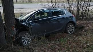 В Воронежской области пьяный водитель иномарки на скорости влетел в дерево