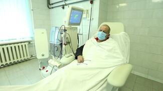 Пациентов на гемодиализе в Воронежской области привили от коронавируса