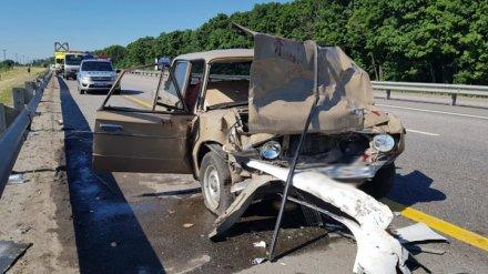 На трассе под Воронежем в массовом ДТП пострадали 7 человек, среди которых 4-летняя девочка