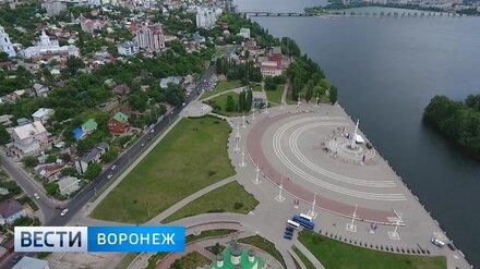 Власти утвердили проект реконструкции первой очереди Петровской набережной в Воронеже