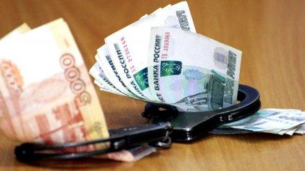 В Воронежской области замглавы отдела полиции за «дань» от подчинённых отправили в СИЗО