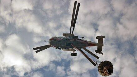 Горящие районы Воронежской области начнут тушить с воздуха