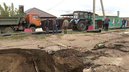 Аварийный участок россошанского аварийного коллектора заменят до конца года