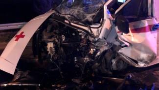 Под Воронежем скорая с пострадавшим в ДТП попала в аварию