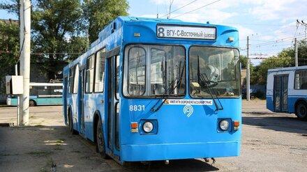 Московские троллейбусы впервые вышли на улицы Воронежа