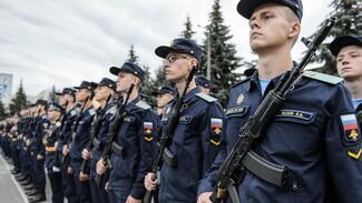 В Воронеже приняли присягу более полутора тысяч курсантов Военно-воздушной академии
