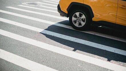 В Воронеже пешеход-нарушитель попал под колёса иномарки