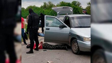 Полиция показала фото задержания продающего «синтетику» воронежского наркомана