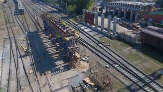 Власти Воронежа подтвердили открытие к октябрю виадука на улице 9 Января
