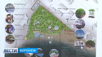 Воздушные тропы и водный трамвай. Каким станет воронежский парк «Дельфин» после реконструкции