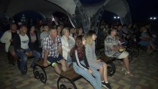 В Воронежской области на берегу Хопра появился кинотеатр под открытым небом