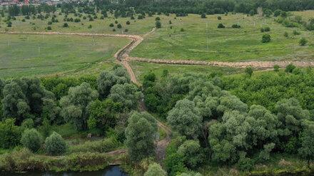 Росприроднадзор заинтересовался вырытой траншеей рядом с озером Круглое в Воронеже