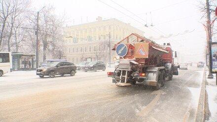 Воронежцы остались недовольны уборкой снега в городе
