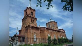 Уникальную старинную церковь сохранят в воронежском селе