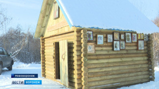 Под Воронежем освятили обустроенную «моржами» купель