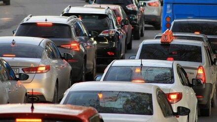 Субботние пробки сковали въезды в Воронеж