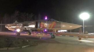 Воронежцев удивила перевозка бомбардировщика Су-24 по трассе