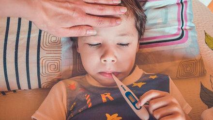 В Воронежской области 4 тыс. детей заболели ОРВИ за неделю