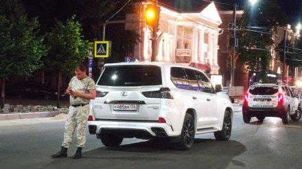 Воронежцу на Lexus выписали штраф в 500 рублей за ДТП на закрытом проспекте Революции