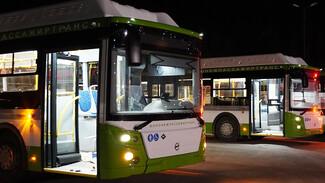 В Воронеж прибыли ещё 28 современных автобусов большого класса