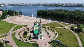 Экскурсии по Воронежу. Адмиралтейская площадь и Успенская церковь