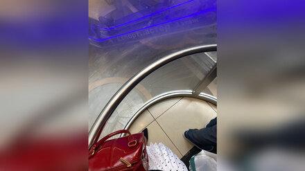 В Воронеже полный посетителей «ГЧ» лифт застрял на высоте