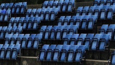 В Воронежской области запретили пускать зрителей на спортивные матчи