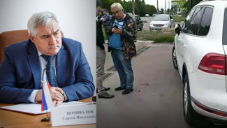 Оказавшийся в центре скандала воронежский депутат переложил вину за порчу шин на десантников