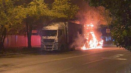Воронежцы показали фото вспыхнувшей в ДТП легковушки