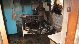 Под Воронежем при пожаре погибла пожилая семейная пара