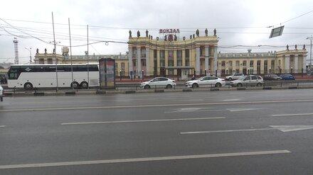 Возле главного вокзала Воронежа временно перекроют движение