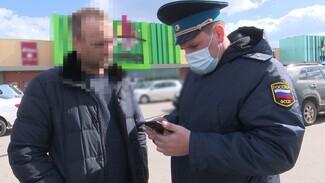 На парковке воронежского «Града» поймали задолжавшего 40 тысяч водителя Infiniti