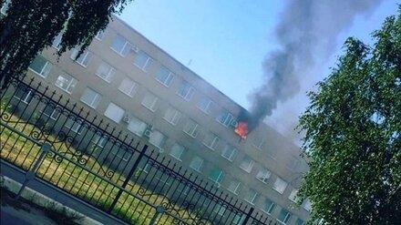 В колледже под Воронежем случился пожар