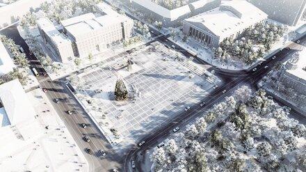 В Воронеже предложили выкопать под площадью Ленина торговый центр