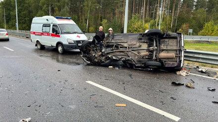 Ребёнок и взрослый погибли в жутком ДТП на Левом берегу Воронежа