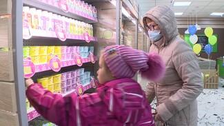 Воронежцам бесплатно раздали премиум-сырки на открытии магазина «Молвест»