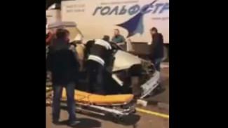 В ДТП в Воронежской области пострадала школьница: появилось видео