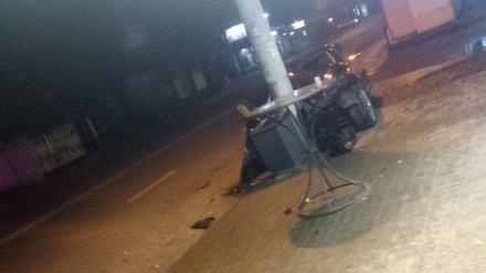 В Воронеже водитель элитной иномарки без номеров спровоцировал ДТП и сбежал