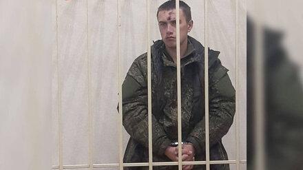 Убившему троих военных воронежскому солдату на 3 месяца продлили арест