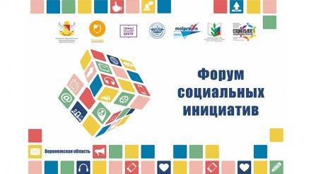 В Воронежской области пройдёт «Форум социальных инициатив»