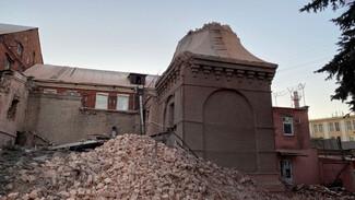 Строители сообщили об окончательном сносе исторического хлебозавода в центре Воронежа