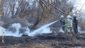 Стала известна причина пожара, из-за которого отменили занятия в двух школах под Воронежем
