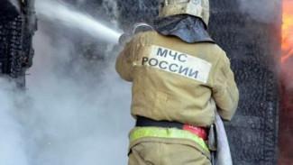 При пожаре в частном доме в Воронежской области погиб человек